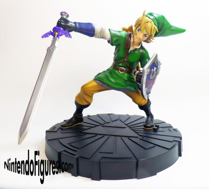 Zelda Skyward Sword Statue Angle 4