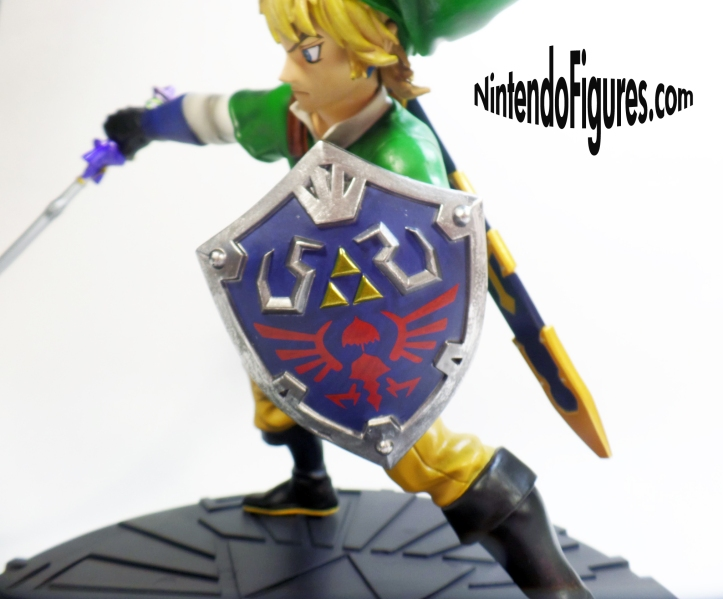 Zelda Skyward Sword Statue Shield Detail