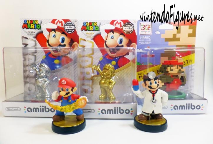 All Mario Amiibos