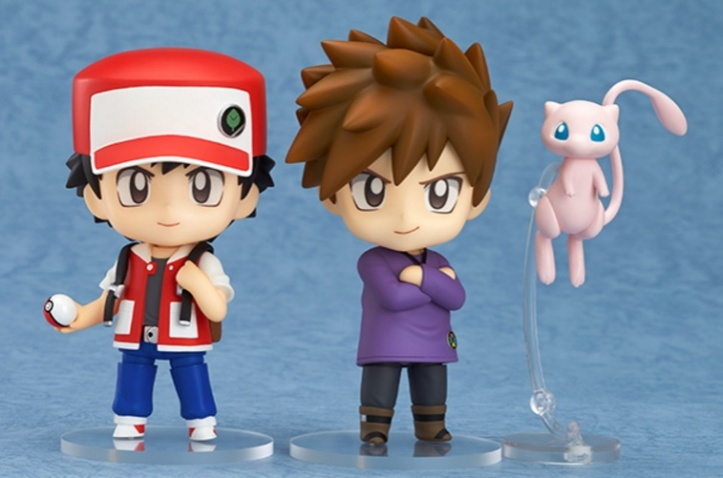 Ash and Gary Pokemon Nendoroids