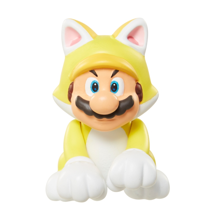 Cat Mario World of Nintendo Figure