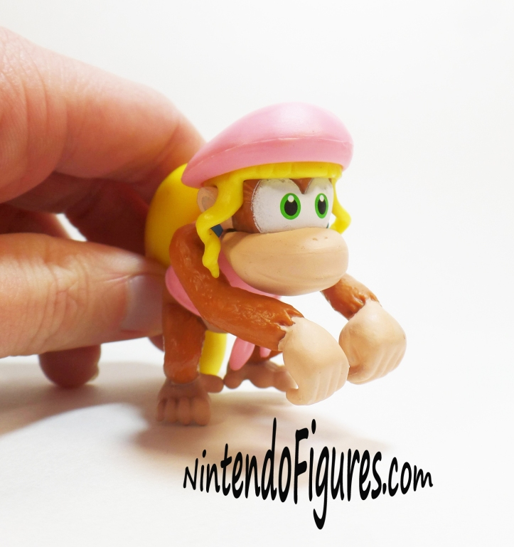 Dixie Kong World of Nintendo Figure Articulation