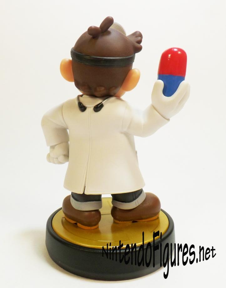 Dr Mario Amiibo Back