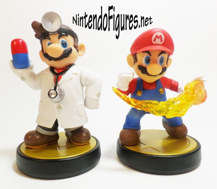 Dr Mario Amiibo Size Comparison