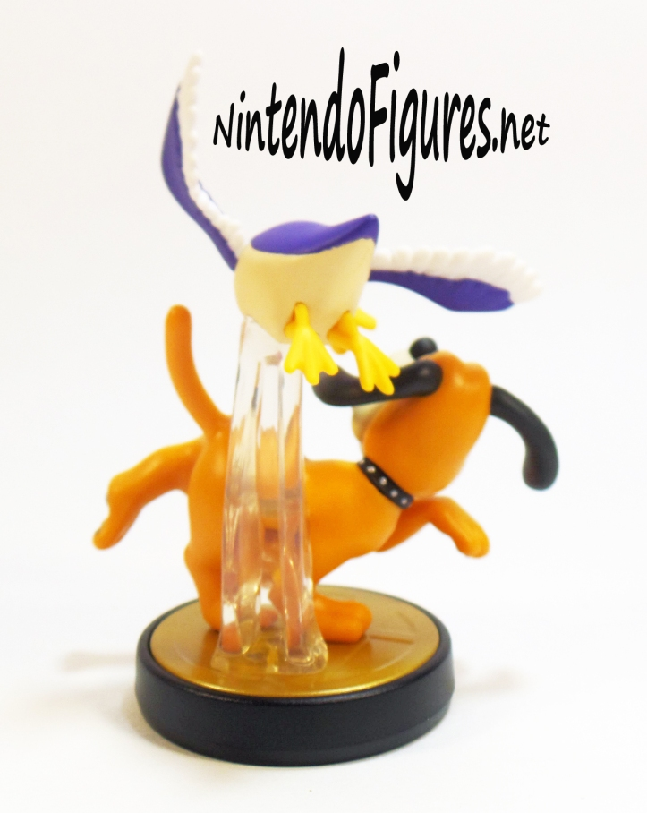 Duck Hunt Amiibo Back