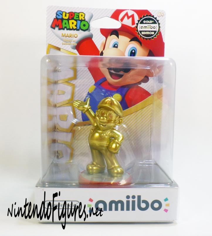 Gold Mario Amiibo