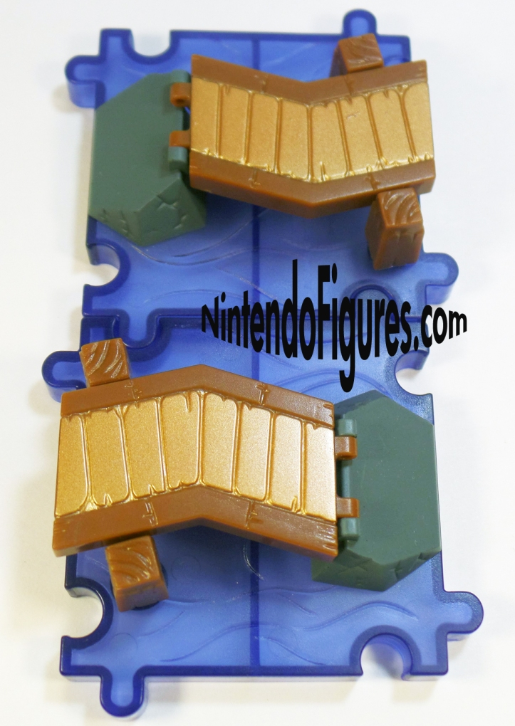 King of Red Lions Deluxe Playset Micro Land World of Nintendo Bridge Tile