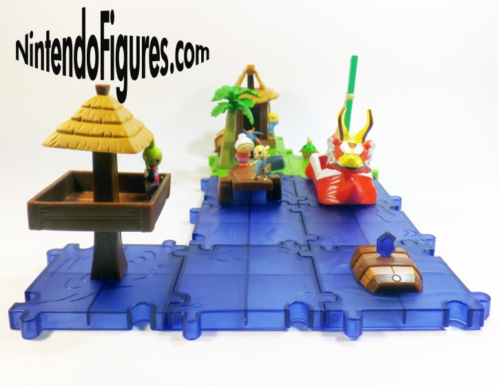 King of Red Lions Deluxe Playset Micro Land World of Nintendo Display 2