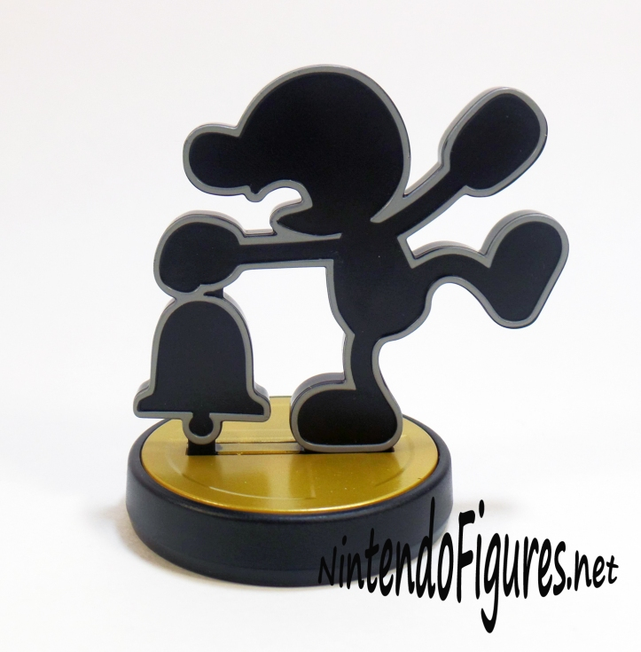 Mr Game and Watch Amiibo Bell