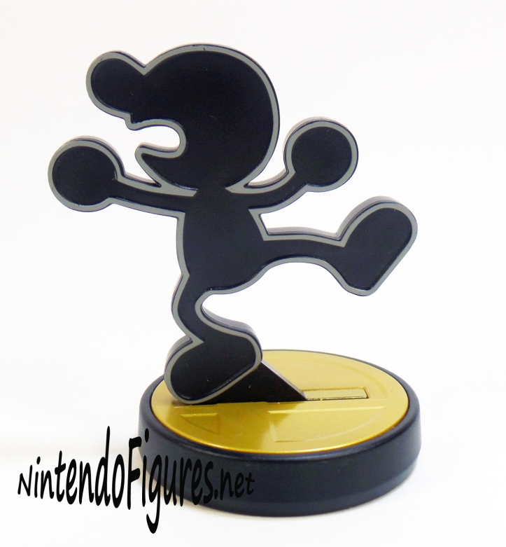 Mr Game and Watch Amiibo Running