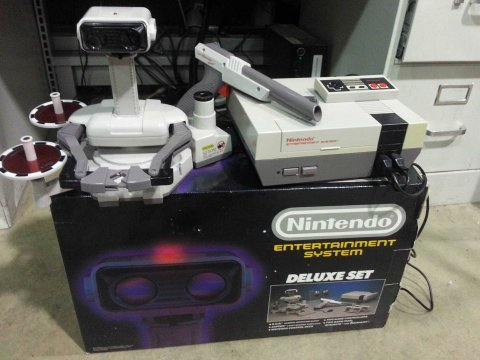ROB The Robot and NES