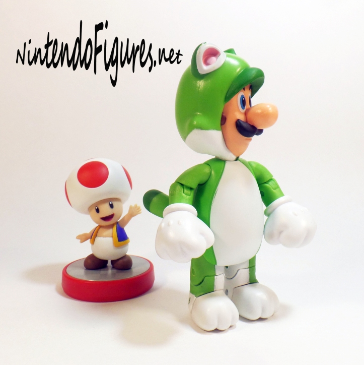 World of Nintendo Cat Luigi and Toad Amiibo