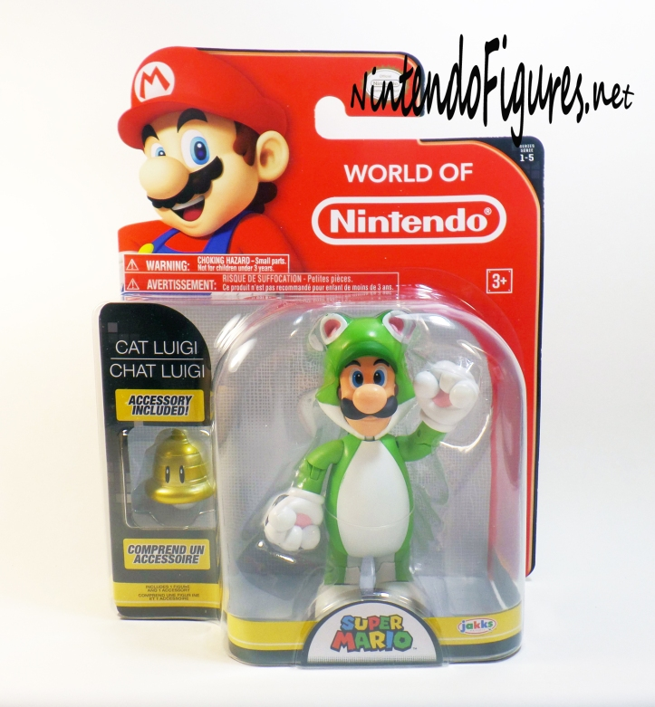 World of Nintendo Cat Luigi Box
