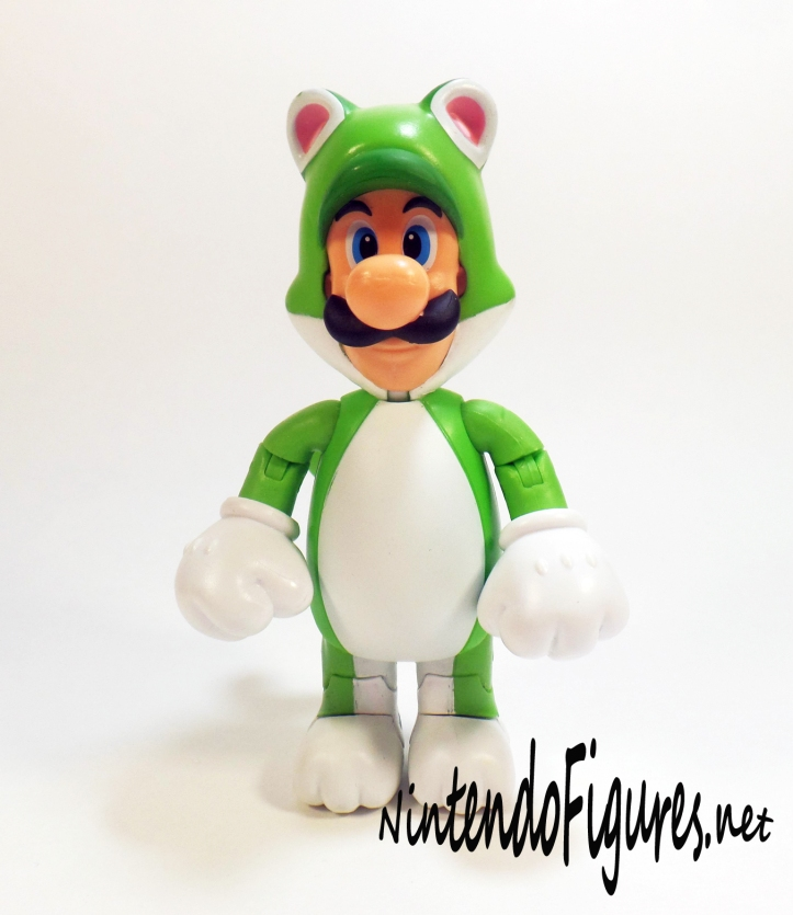 World of Nintendo Cat Luigi Pose 2