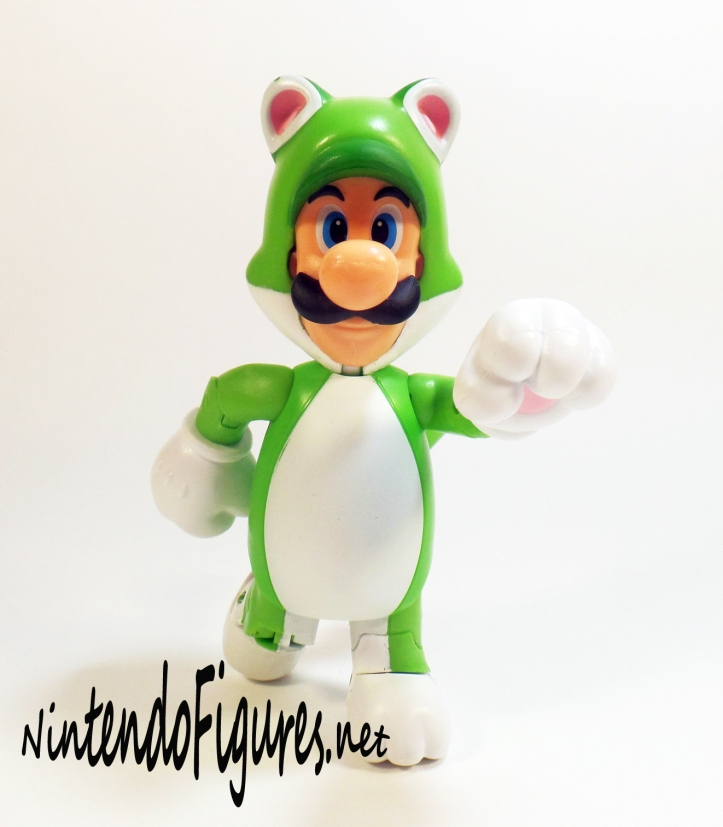World of Nintendo Cat Luigi Pose 3