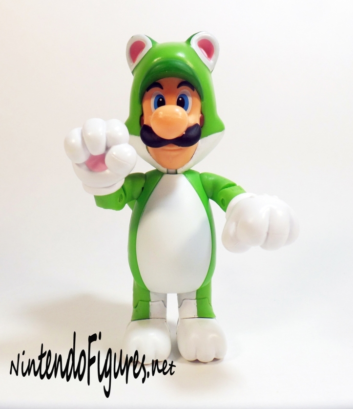 World of Nintendo Cat Luigi Pose 4