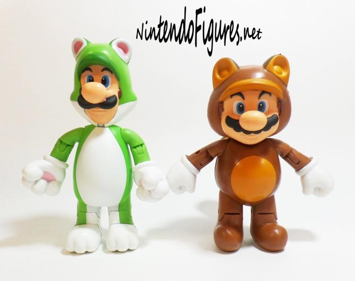 World of Nintendo Cat Luigi Size Comparison