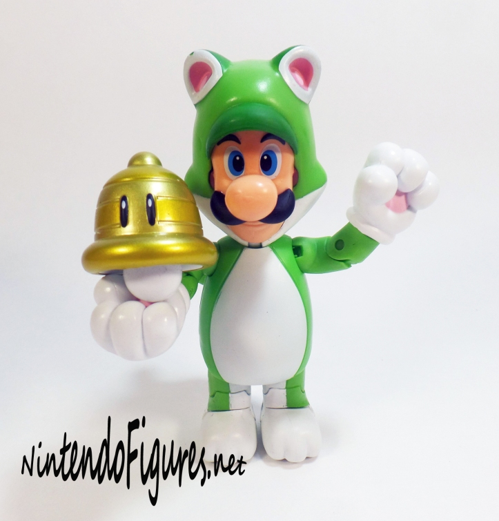 World of Nintendo Cat Luigi with Bell 1