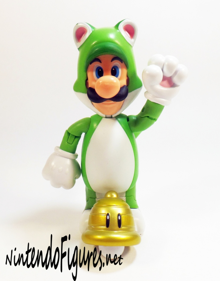 World of Nintendo Cat Luigi with Bell 2