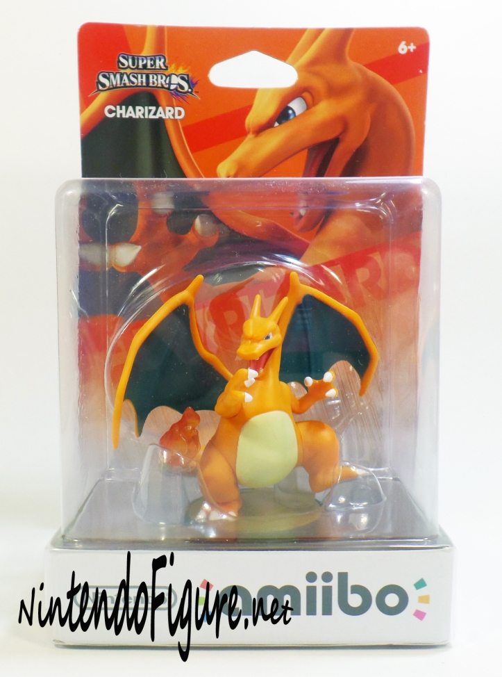Charizard Amiibo Box