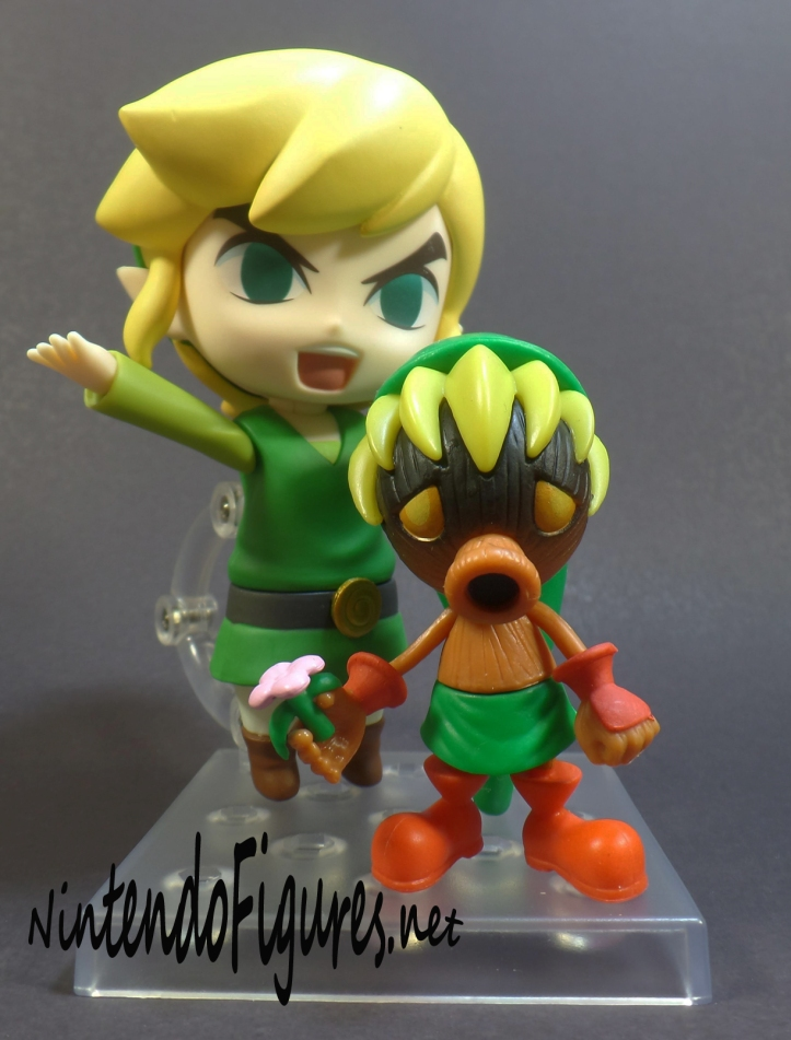 Deku Link World of Nintendo Figure and Wind Waker Link