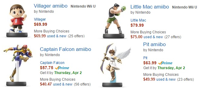 Expensive Amiibo Prices