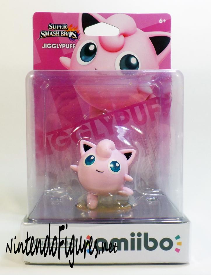 Jigglypuff Amiibo Box