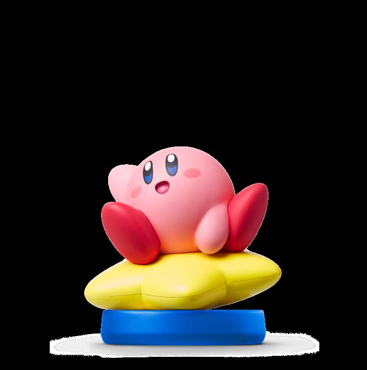 Kirby on Warp Star Amiibo
