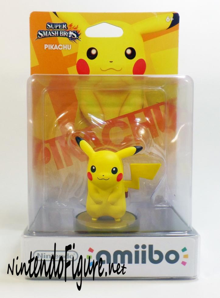 Pikachu Amiibo Box