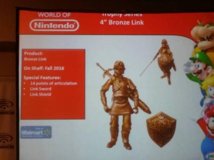 World of Nintendo 4 Inch Bronze Link