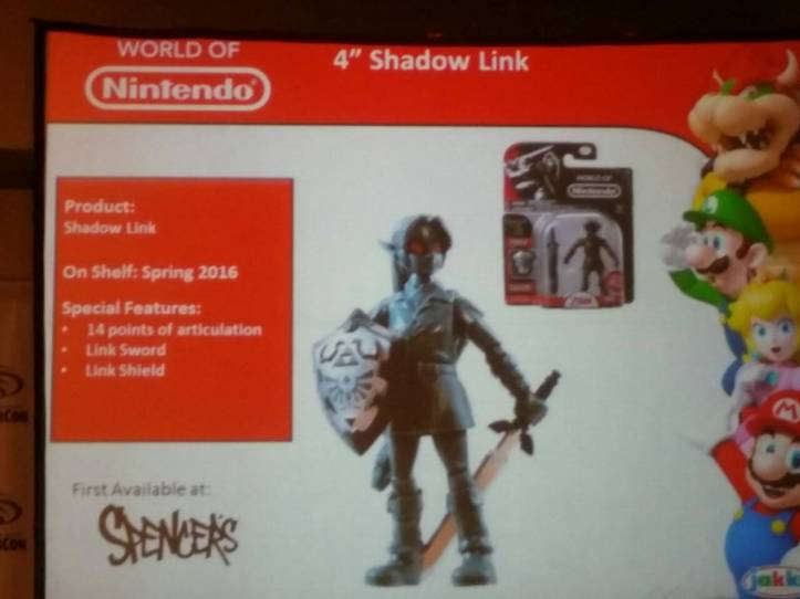 World of Nintendo 4 Inch Shadow Link