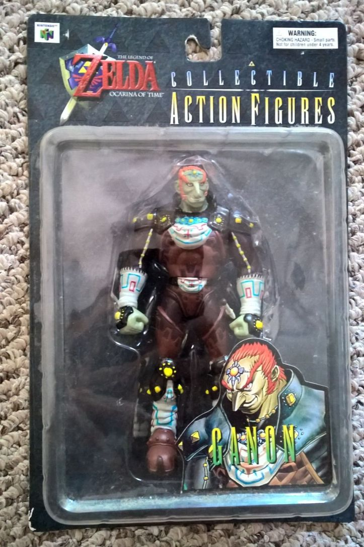 BD and A Ganondorf Figure