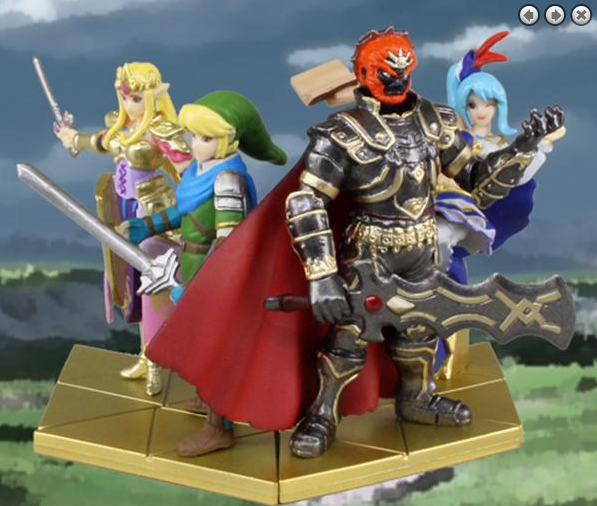 Hyrule Warriors Gashapon 2