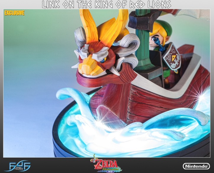 ling-king-of-red-lions-wind-waker-exclusive-statue
