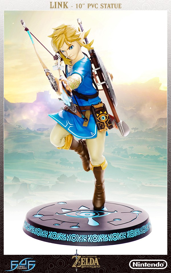 Link Breath of the Wild Statue First 4 Figures