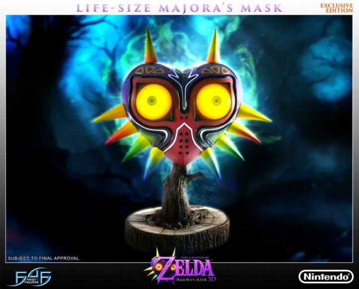 Majora's Mask Replica First 4 Figures Nintendo