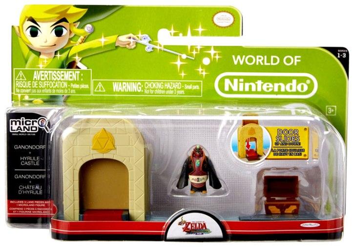 Micro Land Ganondorf Hyrule Castle Playset