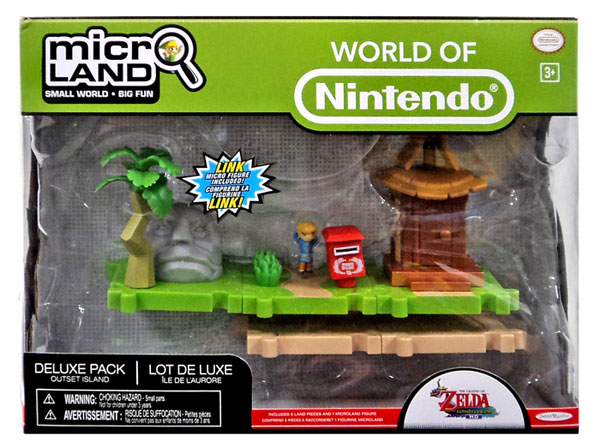 Micro Land Outset Island Deluxe Playset