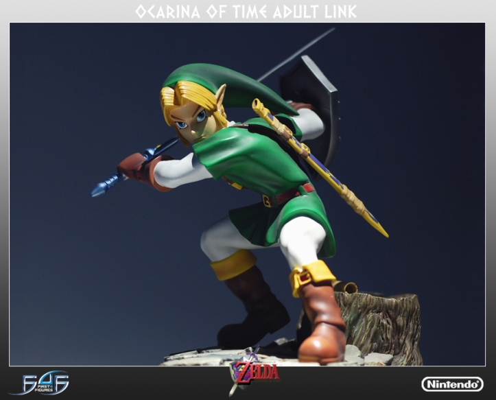Ocarina of Time Link Statue