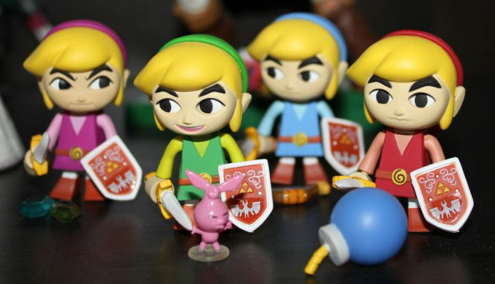 Yujin Zelda Four Swords Gashapon
