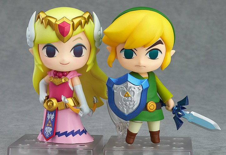 Zelda and Link Nendoroid