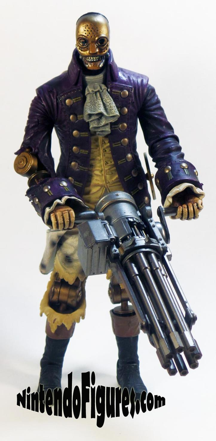 Motorized Patriot Figure Bioshock Infinite Neca Concept Figure Irrational Games Alternate Face