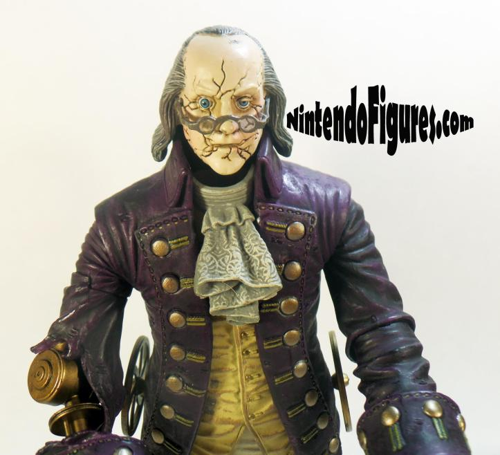 Motorized Patriot Figure Bioshock Infinite Neca Concept Figure Face