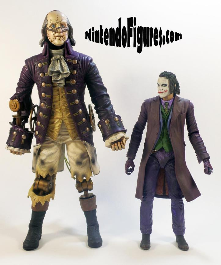 Motorized Patriot Figure Bioshock Infinite Neca Concept Figure Irrational Games Size Comparison 2