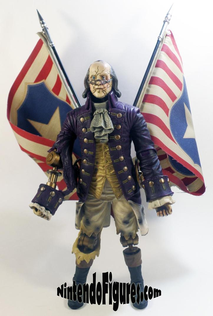 Motorized Patriot Figure Bioshock Infinite Neca Concept Figure