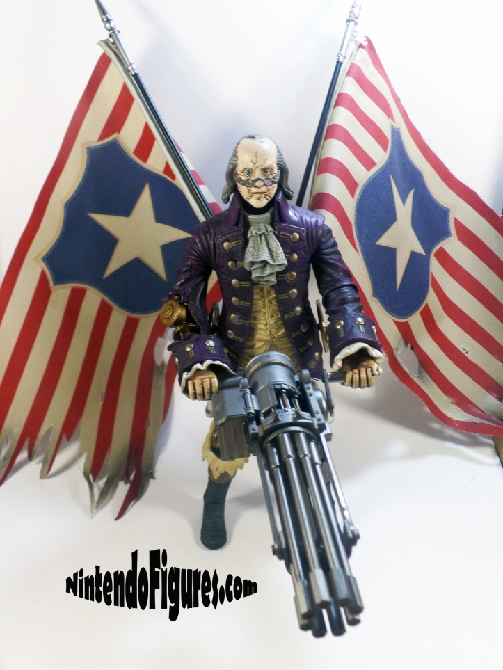 Motorized Patriot Figure Bioshock Infinite Neca Concept Figure Irrational Games