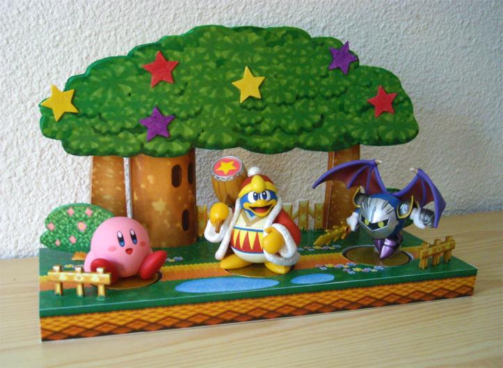Kirby 64 King Dedede Meta Knight Amiibo Display