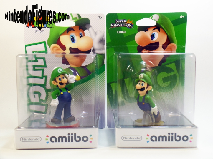 Smash Brothers and Super Mario Luigi Amiibo