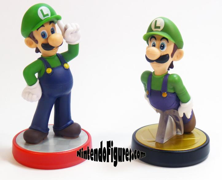 Super Smash Brothers and Super Mario Luigi Amiibo