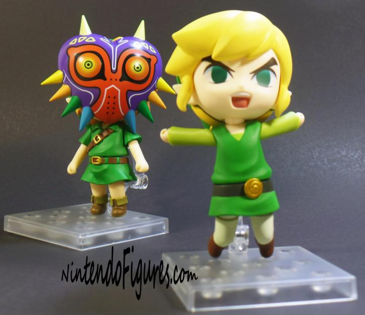 Majora's Mask Link Nendoroid and Wind Waker Link